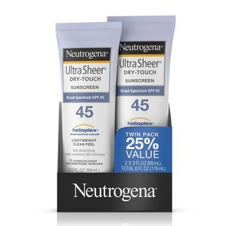 Neutrogena - Ultra Sheer Dry-Touch Sunscreen SPF 45 (Twin Pack)