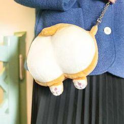 Whoopee! - Corgi Butt Coin Purse / Corgi Butt Crossbody Bag