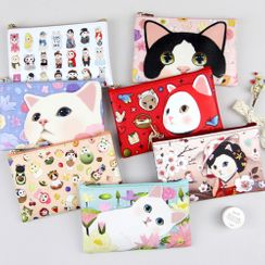 Full House(フルハウス) - JETOY-Cat Print Makeup Pouch