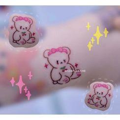 HANZ HAZEL - Bear Waterproof Temporary Tattoo
