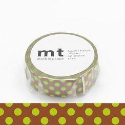 mt - mt Masking Tape : mt 1P Dot Kiwi