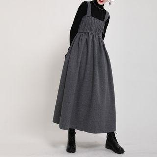 Ultra Modern - Midi Overall Dress