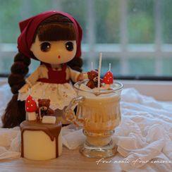 CANDLIA - Bear Mushroom / Cake Fragrance Candle