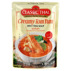 ZEZZUP - Classic Thai Creamy Tom Yum Spicy thai Soup