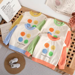 Shaneebabe - 小童印花套衫