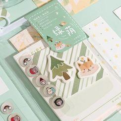 Miumi - Set: Sticker + Sticky Note + Envelope + Letter Paper