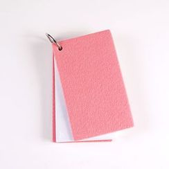 DUGA - Ring Binder Felt Small Vocabulary Notebook