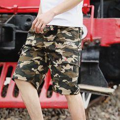 Cowpow - Drawstring Cargo Shorts
