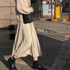 KARLY - 中长风琴褶裙