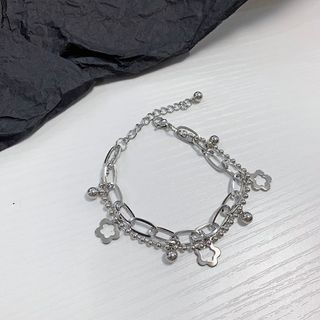 PANGU - Metal Flower Bracelet