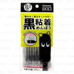SANYO - Japanese High Quality Black Sticky & Ring Cotton Swabs