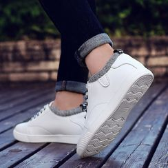 MARTUCCI - Faux Leather Sneakers