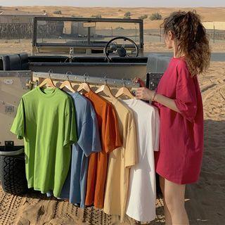 Bebop - Plain Short-Sleeve T-Shirt