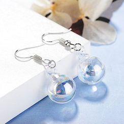 Knick Knack - Glass Ball Dangle Earring (various designs)