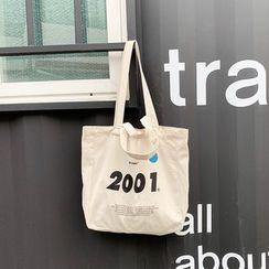 Yeyu Studio - 數字帆布手提袋