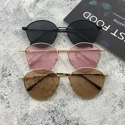 Tensai - Retro Metal Frame Sunglasses
