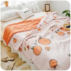 默默爱 - 水果印花冷却毯