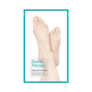 ROYAL SKIN - Aromatherapy Peppermint Foot Mask