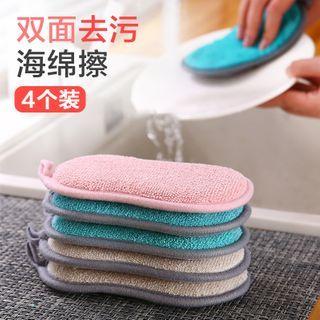Showroom(ショウルーム) - Set of 4: Kitchen Cleaning Sponge