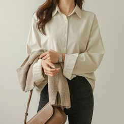 JUSTONE - Colored Cotton Shirt
