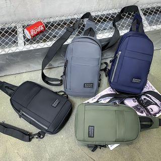 Mulgam - Zip Nylon Sling Bag