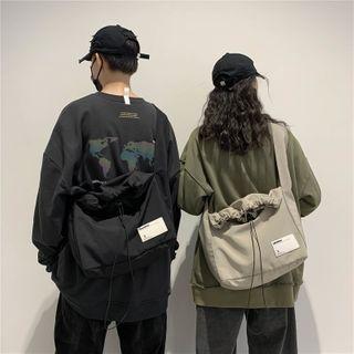 Mulgam - Drawstring Canvas Crossbody Bag