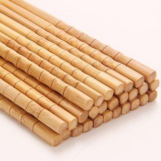 Livesmart - 10 Pair Set: Bamboo Chopsticks