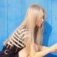 Princess Nine - Straight Long Full Wig with Hair Care Kit