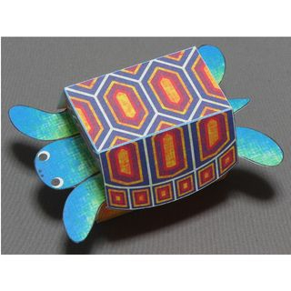 Kamikara - Paper Craft: Surprised Turtle