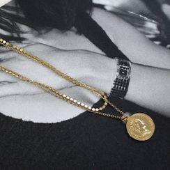 DANI LOVE - Layered Chain Necklace