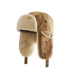HARPY - Fleece-lined Trapper Hat