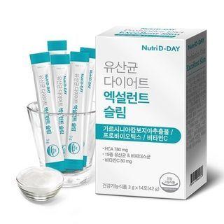 Nutri D-DAY - Probiotics Diet Excellent Slim 2-Week Set NEW
