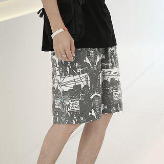 Alvicio - Printed Shorts