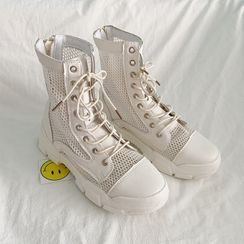 HOGG - High-top Canvas Sneakers
