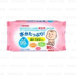 KIDS & MAMA - 99.9% Pure Water Baby Wipes