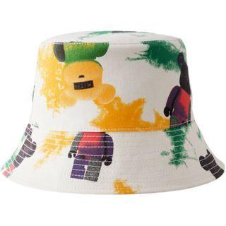 HARPY - Graffiti Print Bucket Hat