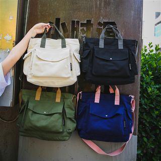 SUNMAN - 純色帆布手提袋