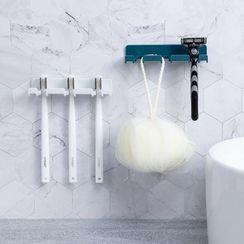 Livesmart - Toothbrush Adhesive Wall Holder