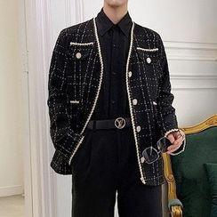 Bjorn - Button-Up Tweed Jacket
