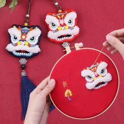 Anffleur - Embroidery Amulet DIY Kit