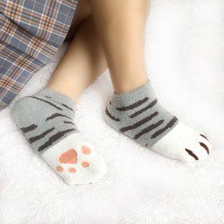 Catshere - Cat Paw Printed Socks
