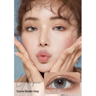 GLOW LOUDEY - Unique Monthly Color Lens #Scene Stealer Gray