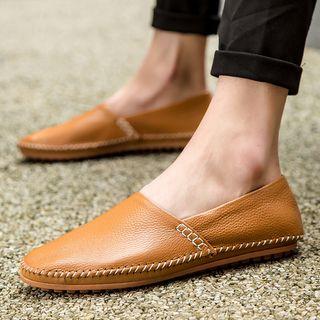 WeWolf - 真皮饰缝线轻便鞋