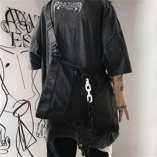 Porstina - Chained Buckled Crossbody Bag