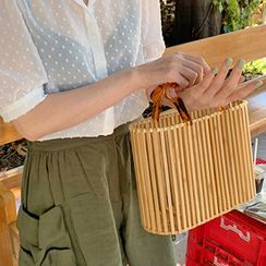 FROMBEGINNING - Bamboo Basket Tote