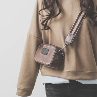 KOKOSE - Faux Leather Crossbody Bag
