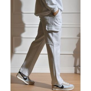 STYLEMAN - Drawcord-Hem Cargo Pants