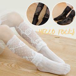 Huasha - Kids Lace Socks