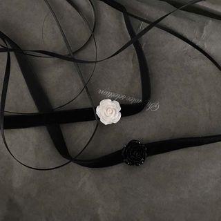 Calypso - 碎花貼脖項鏈
