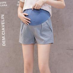 Empressa - Maternity Wide-Leg Shorts